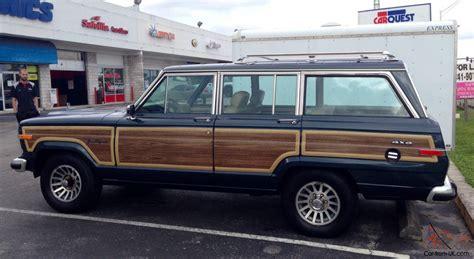 Jeep Wagoneer Woody 1989 Jeep Grand Wagoneer Woody Addition 156 119 Original