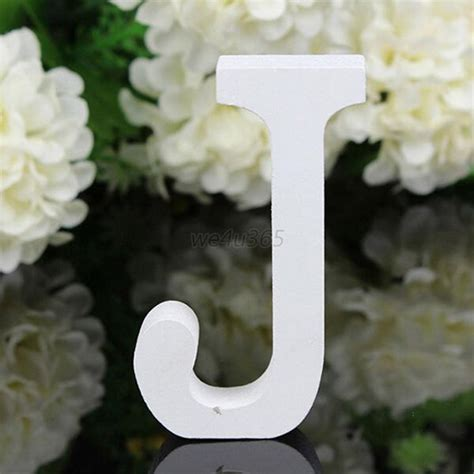 decorative letters for home free standing a z wooden wood letters alphabet word free standing wedding home decor w68 ebay