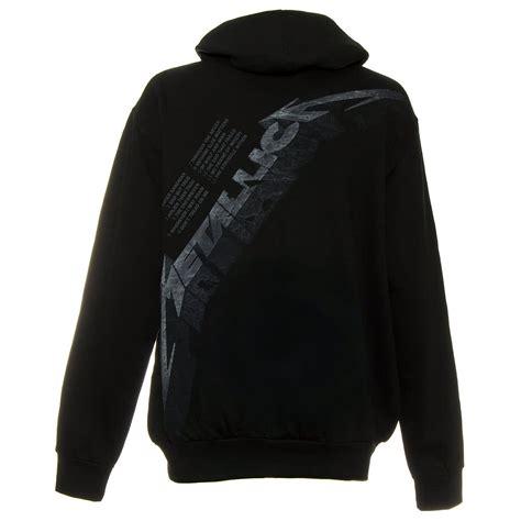 Hoodie Zipper Metalica Cloth metallica black album zip up hoodie official band merch