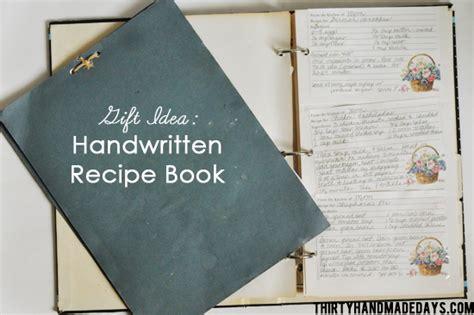 Handmade Recipe Book Ideas - recipe cards simply sentimental