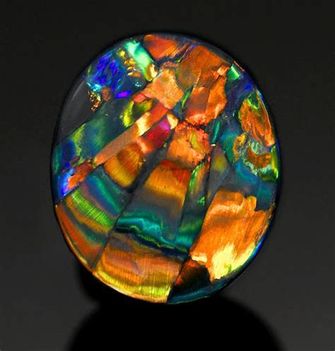 harlequin pattern meaning the rarest and most expensive pattern of opal