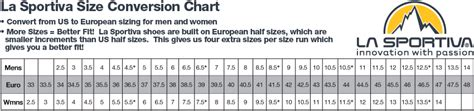 climbing shoe sizes la sportiva climbing shoe size chart shoes design