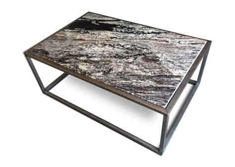 coffee tables marble and granite contemporary granite top coffee table kb furnishings