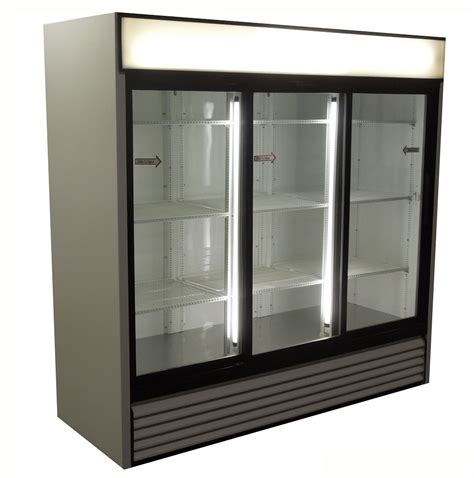 Freezer Sliding Glass coolers 2 door 3 door display coolers with glass doors