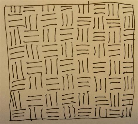 weaving pattern drawing zen doodle basketweave drawing by clara brayton