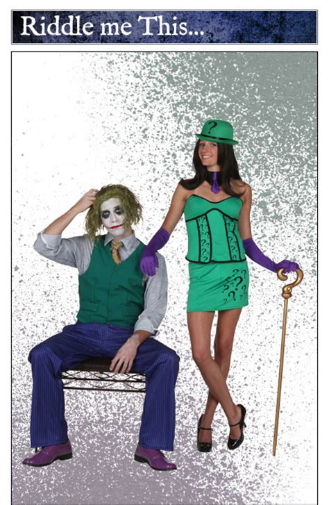 what does a wear when it s riddle joker costumes halloweencostumes