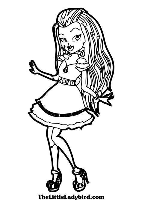 monster high coloring pages to play monster high coloring pages 12 free printable coloring