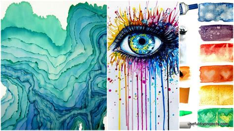 ideas for paintings watercolor painting ideas www imgkid com the image kid
