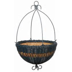 Hanging Planter Liners by 16 Inch Hunger Green Resin Wicker Hanging Planter Coco