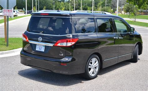 nissan quest rear 2011 nissan quest le first drive