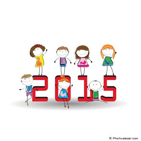 new year 2015 children s facts happy new year 2015 kid s drawing elsoar