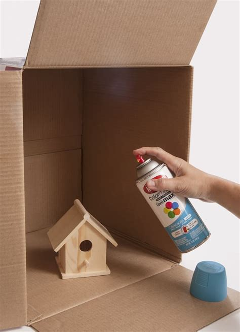 spray painting cardboard boxes 20 genius crafting tips you ll use again and again