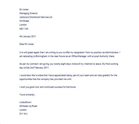 Resignation Letter Reason For Leaving Resignation Letter Template 43 Free Word Pdf Format Free Premium Templates