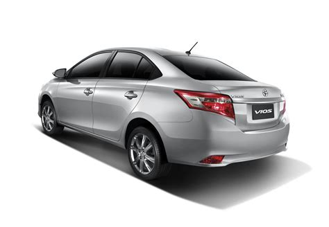 Toyota Vios 2016 2016 Toyota Vios Rear Quarter Launched In Thailand