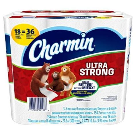 What Makes Toilet Paper Strong - charmin ultra strong toilet paper 18 rolls