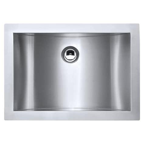 stainless steel undermount bathroom sink ruvati 21 in undermount 18 stainless steel bathroom