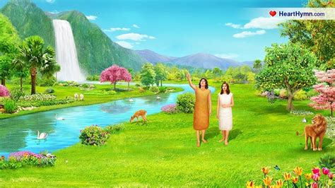 in the garden of eden adam and eve pictures to pin on