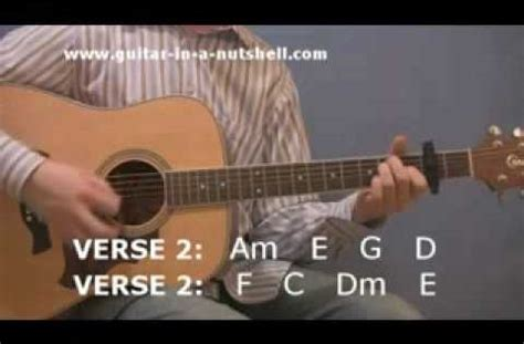 tutorial guitar angie acoustic guitar play hotel california for beginners
