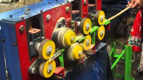 Mesin Bor Sangkar Burung mesin jeruji sangkar burung penggerak putaran flaywheel