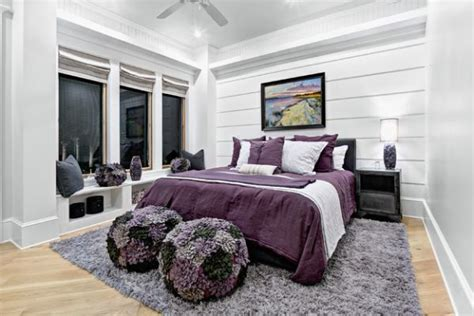 Purple And Gray Bedroom Ideas by Purple Rooms And Interior Design Inspiration