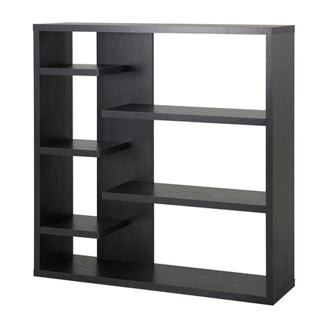 homestar 6 shelf storage bookcase in espresso the home