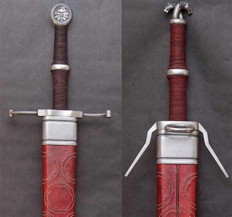 make a witcher 3 sword props superior wolf school swords and harness the