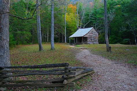 Cove Cabins by Cades Cove Cabin Photograph By Ty