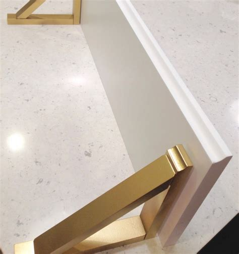 Gold Shelf Brackets by Diy Shelves With Gold Brackets