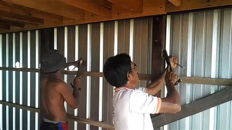 proses pembuatan sirkulasi udara rumah burung walet