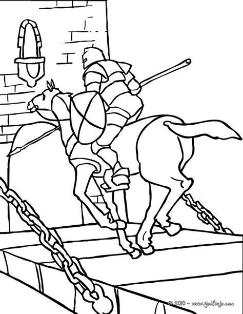 caballero infantil caballero fantasia dibujo projecte dibujos para colorear un caballero a caballo llegando a