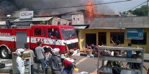 Oven Listrik Di Bandung korsleting listrik picu kebakaran kios bensin di bandung
