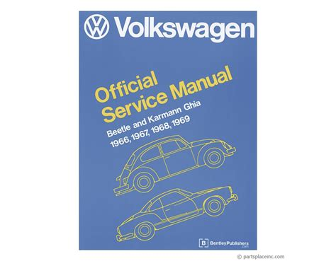 Vw Beetle Amp Ghia Bentley Repair Manual Free Tech Help