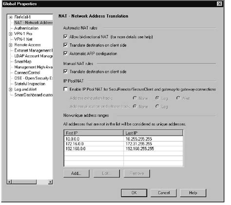 network address translation tutorial point static nat changes from 4 x to ng fw 1 ng operational