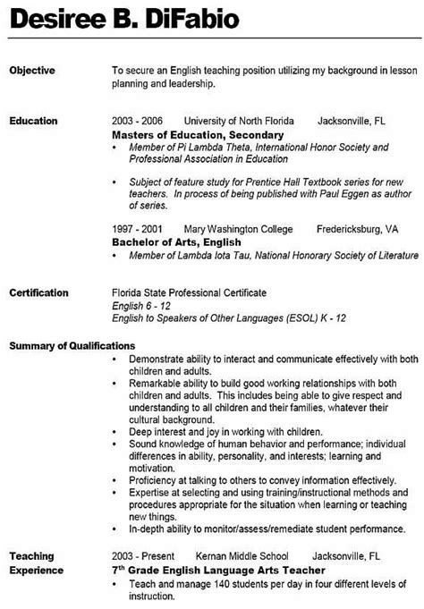 bold resume template sle resume like the bold name with line