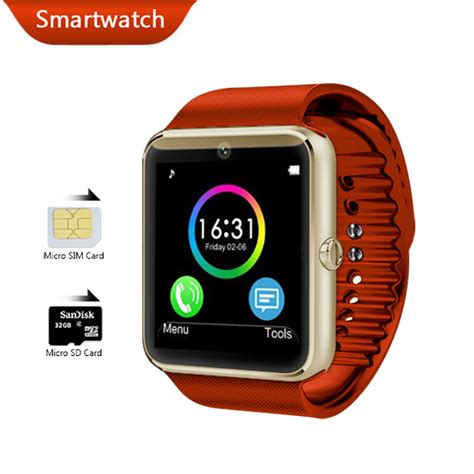 Smartwatch Android Wear smart gt08 bluetooth health android wear smartwatch