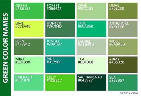 different color greens what color is teal green green color names color teal