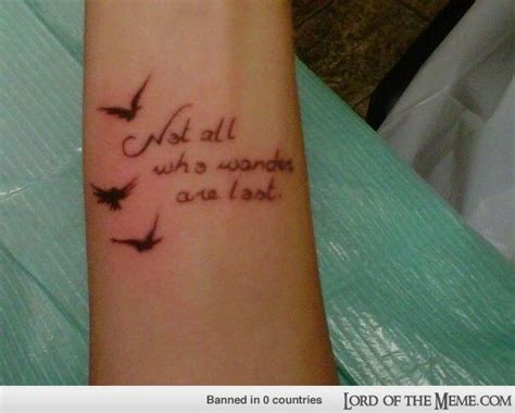 tattoo quotes lord of the rings lord of the rings tattoo an inked life pinterest