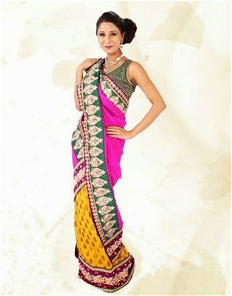 fish style saree draping pear body shape clothing tips for gorgeous look looksgud in