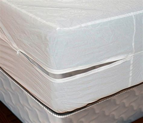 Heavy Duty Vinyl Mattress Cover by Royal Mystique Vinyl Zippered Mattress Cover Waterproof