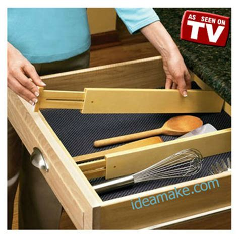 Drawer Organizer As Seen On Tv T1910 1 as seen on tv drawer divider ideal for kitchen utensils