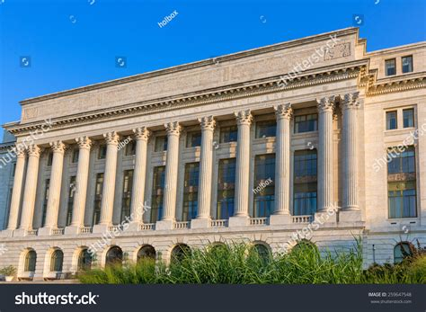 us agriculture department building washington dc united states department agriculture washington dc stock