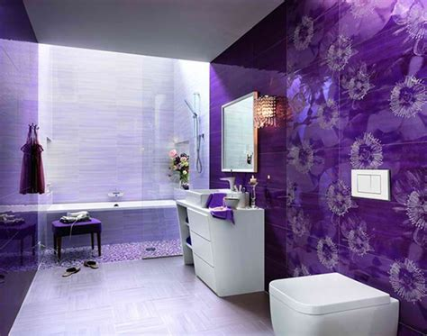 Purple Bathroom Ideas | 33 cool purple bathroom design ideas digsdigs