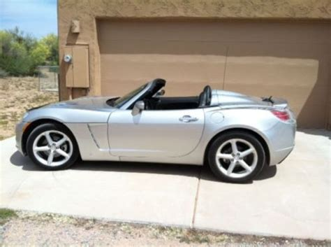 how it works cars 2009 saturn sky spare parts catalogs purchase used 2009 saturn sky only 17200 miles in prescott arizona united states