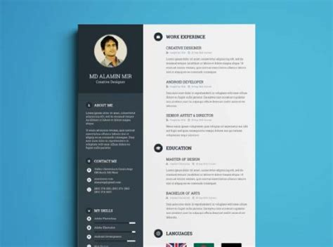 How To Organize A Resume by Organize Cv Resume Template