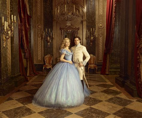 cinderella film year vogue has the first look at the costumes of disney s