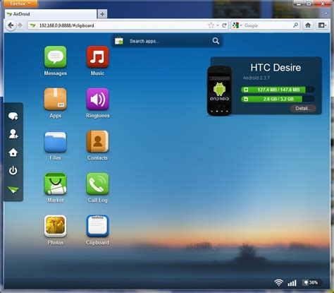 android systems airdroid the desktop ui for your android operating system ui