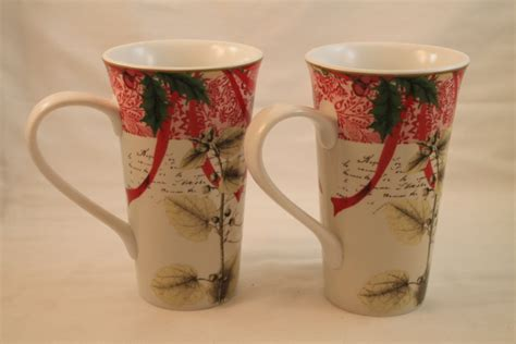 Decoupage Mug - 222 fifth decoupage large coffee