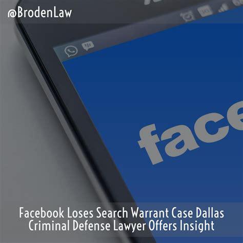 Warrant Search Dallas Loses Search Warrant Dallas Criminal Defense Lawyer Offers Insight