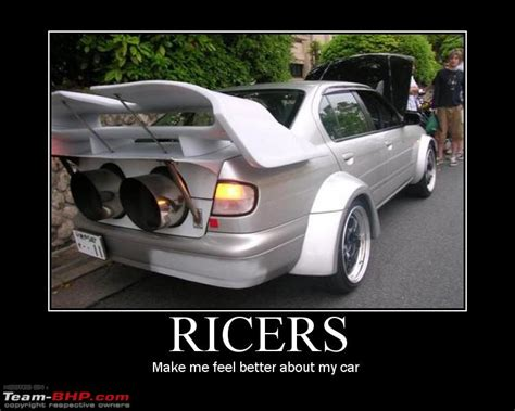 ricer muscle car how do you guys feel when a6 owners rice their cars