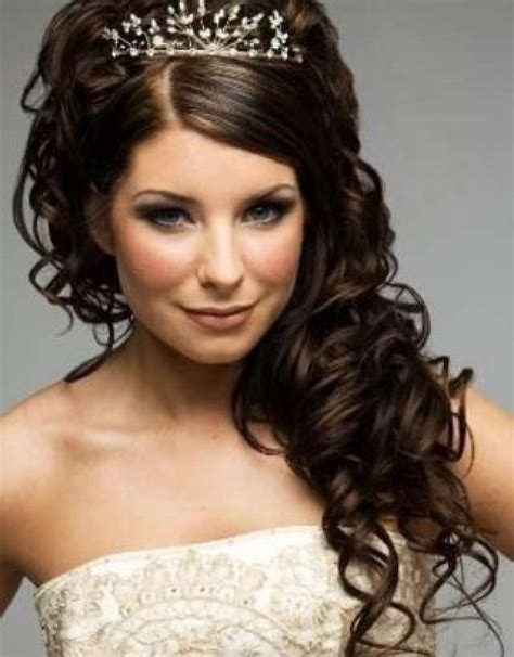 Wedding hairstyles for shoulder length curly hair hollywood official